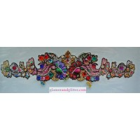 Large Glitter Armband Bindi 3D Jeweled Body Sticker Temporary Tattoo Crystals Beads LB107