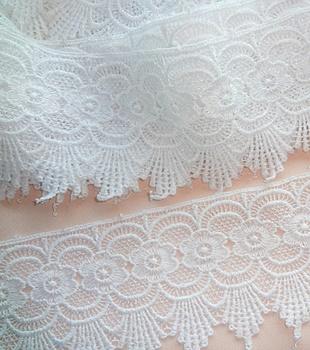 Bridal White Venise Cluny Lace